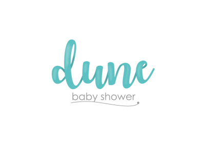 dune- baby shower: Identidad corporativa